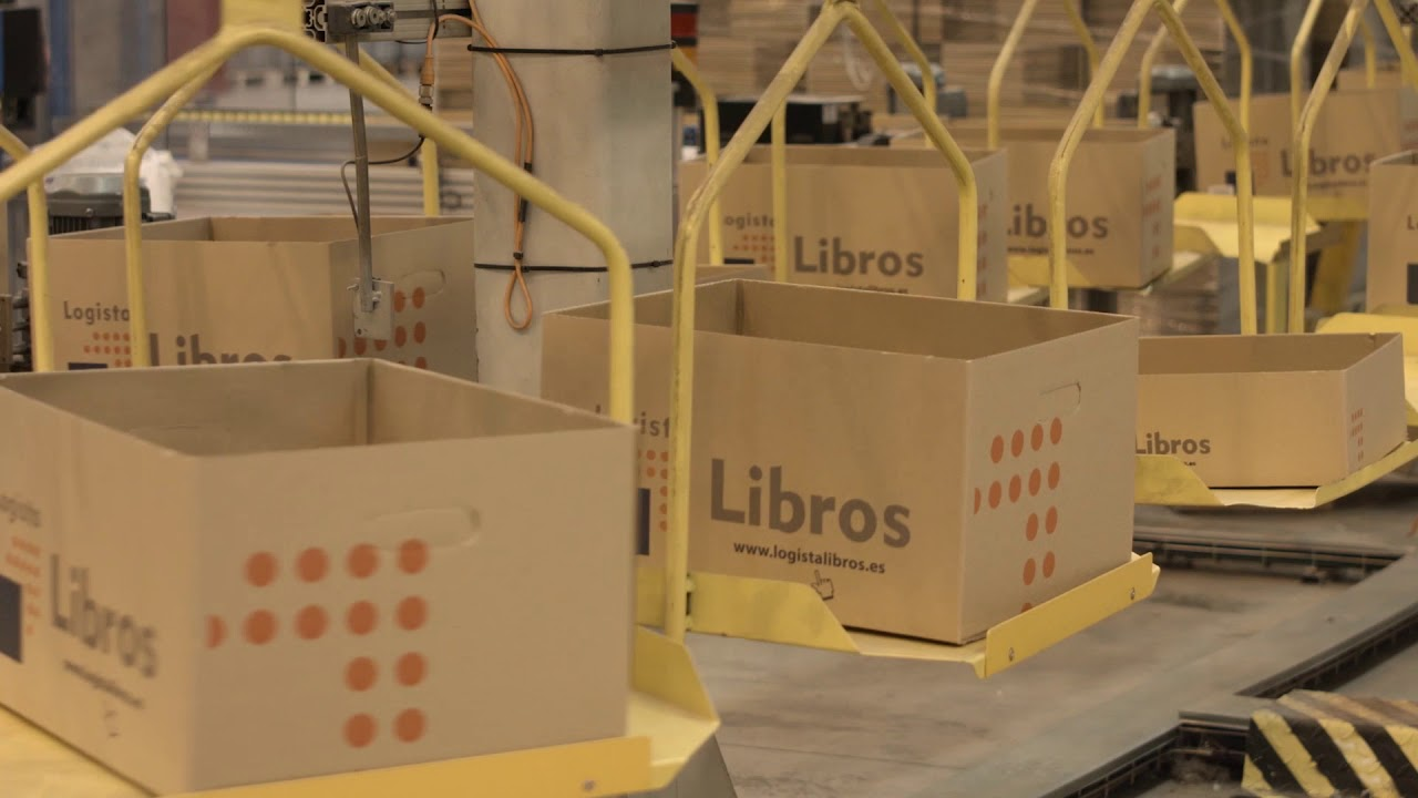 Logista Libros - Largest independent book distributor in