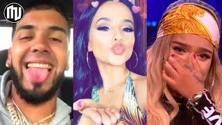 ¡UY! Anuel le dedica un verso a Becky G y Karol G se posiciona! | Top 100 de los artistas globales