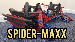 Spider-Maxx part 2 (Traxxas x-maxx)