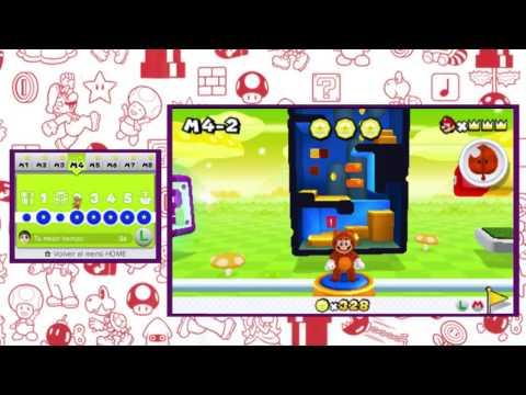 Super Mario 3D Land - Las dos salidas ocultas del juego *secreto*
