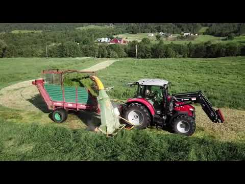 Farmers At Work In Norway