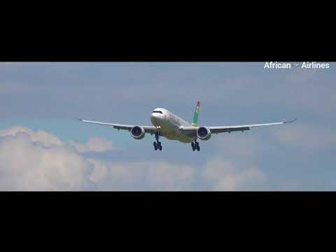 AIR SENEGAL|Airbus A330-900NEO|Landing At Paris CDG