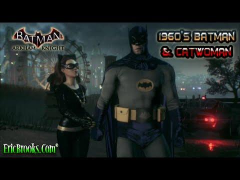 1960's Batman and Catwoman vs. The Riddler - Batman: Arkham Knight