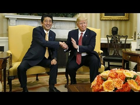 Usa Japon Trump Et Abe Jouent La Diplomatie Du Golf