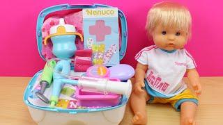 Botiquín De Emergencias De Nenuco | Juguetes De Bebé Nenuco En Español | El Bebé Nenuco Está Malito
