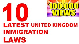 UK ANNOUNCES NEW IMMIGRATION SYSTEM   FEBRUARY 2020 HD