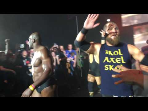 Titus O'Neil Entrance Lille  (with Curtis Axel and Bo Dallas)