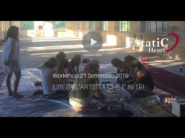 Libera l'Artista che è in Te - one day workshop con Sarah Arensi.