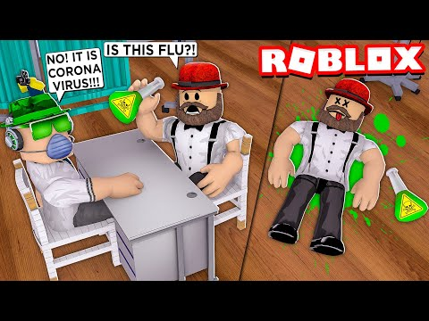 CURING CORONA VIRUS PATIENTS In ROBLOX TYCOON HOSPITAL
