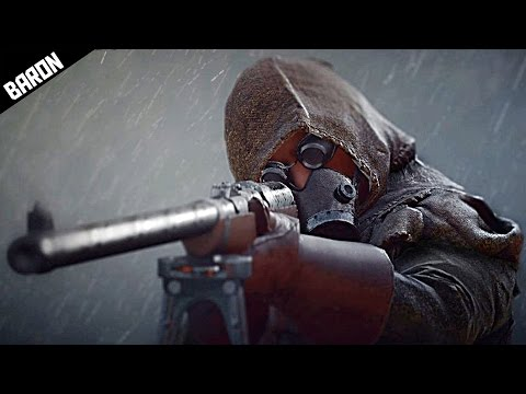 Ghost in the Darkness - Battlefield 1 Campaign Gameplay, Lawrence of Arabia p2