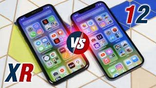 Сравнение iPhone 12 VS iPhone XR - кто кого и как больно? Какой iPhone выбрать в 2020, отзыв юзера!