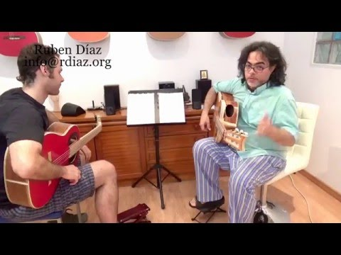 Paco de Lucia´s style por Tangos contemporary approach to flamenco / Lesson 12 / Ruben Diaz Spain
