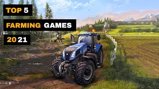 Top 5 Realistic Farming Games For Android 2021 screenshot 1