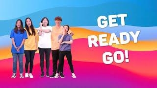 Get Ready Go | Hannah + Friends