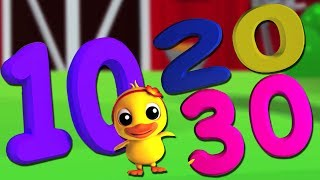 números canção 1- 30 | Aprender números | números para crianças | Numbers Song 1-30 in Portuguese