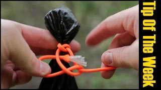 "10 Awesome Uses For Trash Bags - ""Tip Of The Week"""