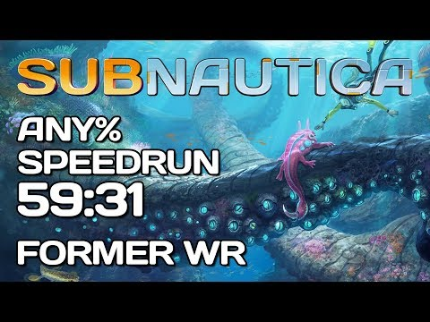 Subnautica - Any% Speedrun - 59:31 NEW World Record