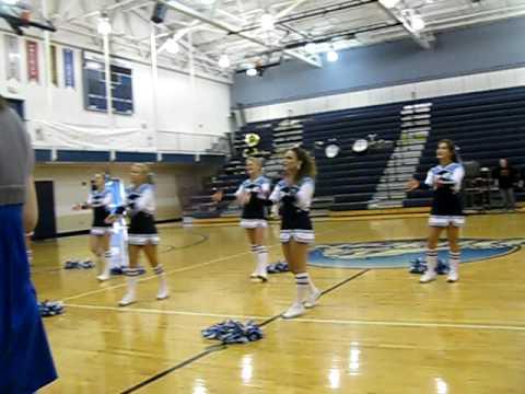 Sophomores Winning Spirit Stick