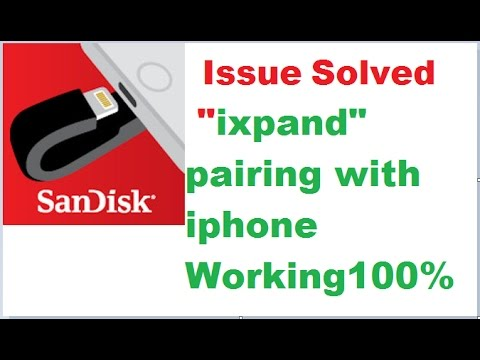 SOLVED  IXpand Drive  - IPhone NOT DETECTING Issues. Working 100 %