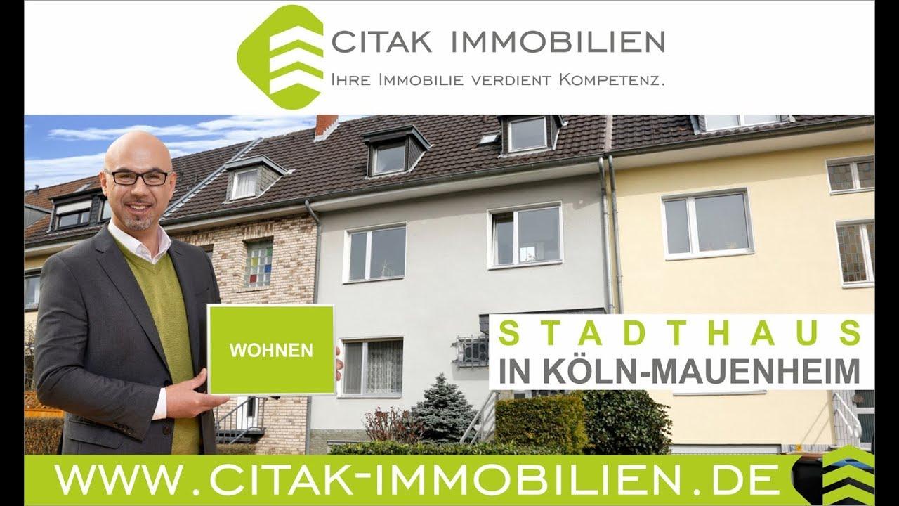 Citak Immobilien immobilien köln reihenhaus stadthaus in köln mauenheim citak