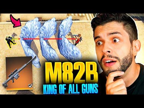 M82B King of Free fire🔥😳निकालो इस Gun को🙄🤐!!