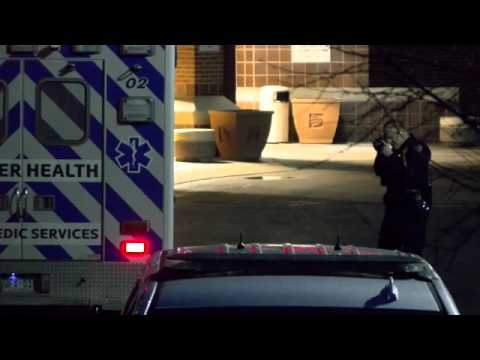 Ambulance struck a pedestrian at North Colorado Medical Center in Greeley early Sunday morning