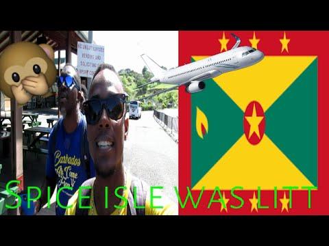 MY trip to Grenada Vlog part 1 || Yes4Christ was lit!! /Bajan Movie Critic- MaTeO Elliott