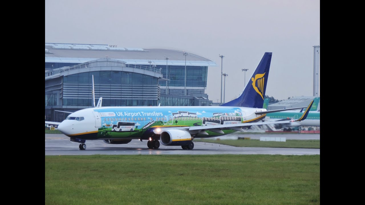 ryanair national express take dublin airport