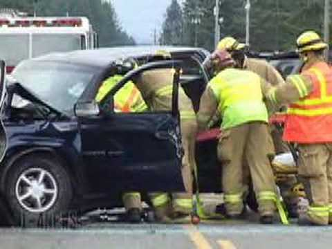 Fatal High Speed Head On With Extrication - Spanaway WA
