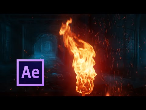 🔥 Realistic FIRE Simulation - After Effects TUTORIAL