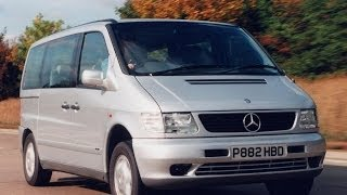 Тест драйв Mercedes Benz V- class new.презентация