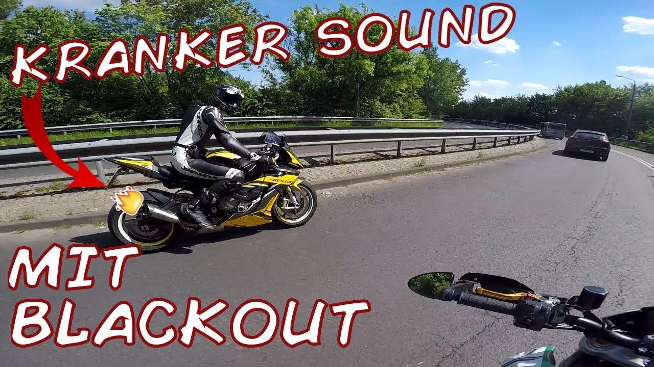 Kranker Sound Mit Blackout Und Debo Bmw S1000rr Dunlop Edition