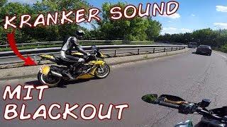 KRANKER SOUND!!! Mit BLACKOUT und DEBO   BMW s1000RR Dunlop Edition