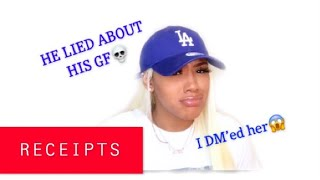 STORYTIME🎬I HIT UP HIS GIRLFRIEND THAT HE LIED ABOUT😱RECEIPTS INCLUDED