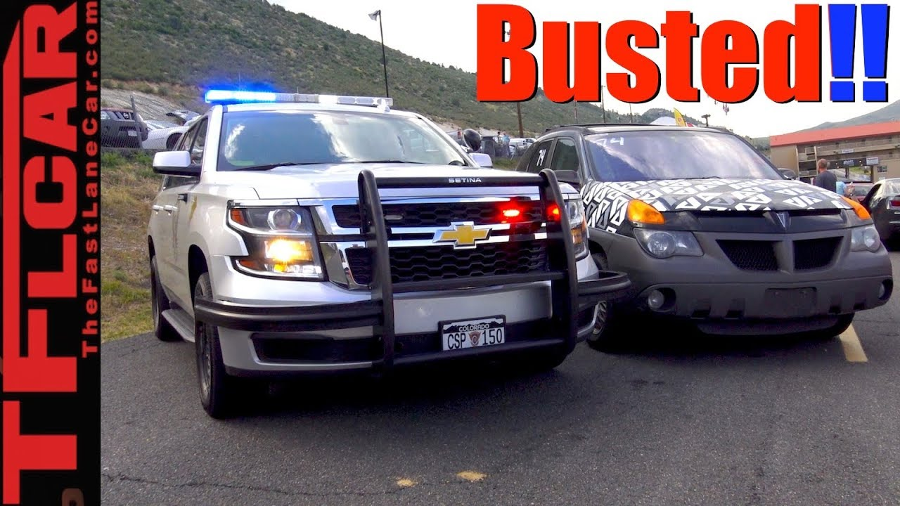 Did The World S Ugliest Car Outrun The Police Youtube