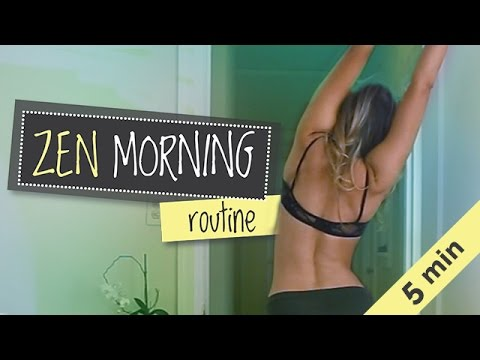 Minimalist Morning Routine | Yoga, Journaling, Meditation, Green Smoothie | My Zen Morning