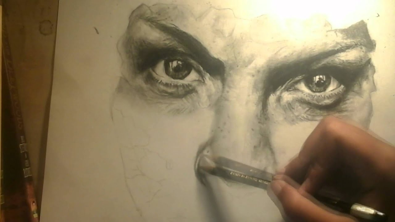 Drawing a Hyper-realistic, Photorealistic or Realistic ...  Drawing a Hyper...