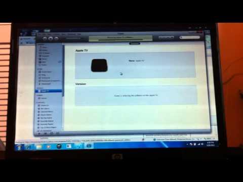 APPLE TV 2 RESTORE 4.2.1. FIX ITUNES ERROR 1602