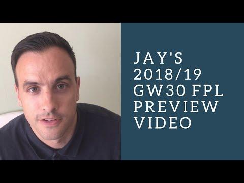 FPL 18/19 GW29 Preview: Fantasy Football tips from FPL guru Jay Egersdorff