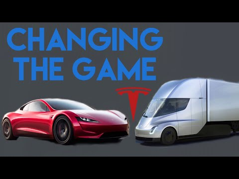 Tesla Semi Truck & Roadster 2.0