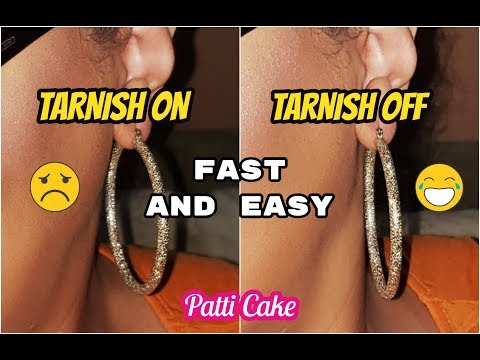 TOOTHPASTE??? TARNISH FROM ANY JEWELRY HACK~ Fast and Easy ||Patti Cake