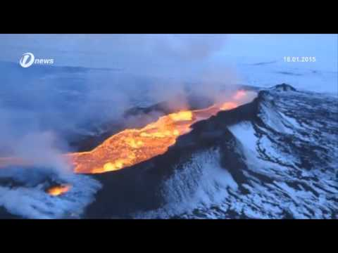 Tongan Volcano Creates New Island