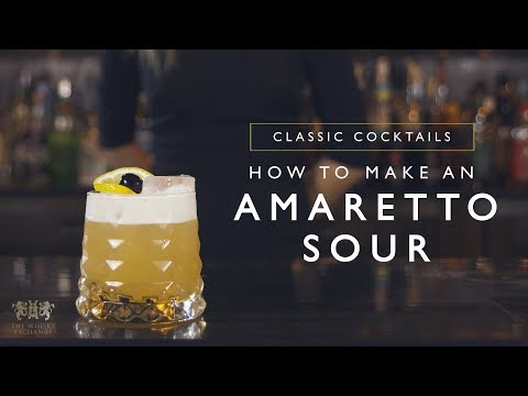 Amaretto Sour Cocktail Recipe – The Whisky Exchange