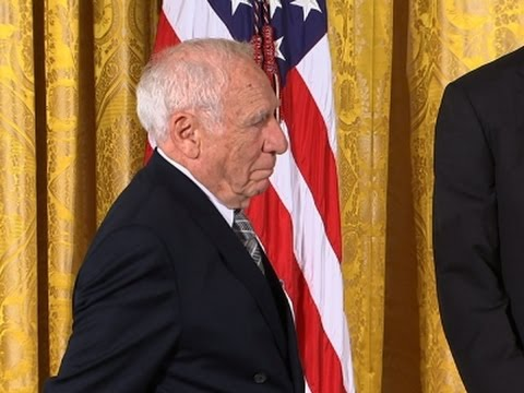 Mel Brooks Steals  at White House