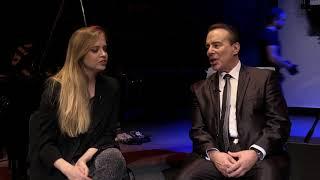 TV Galicja - Rozmowa Piotra Piegzy z Sashą Strunin i Garym Guthmanem