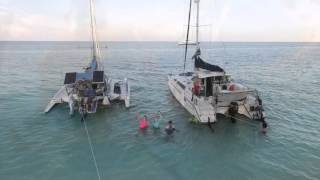 Sapona Jump Bimini Catamaran DJI Phantom 3 2015