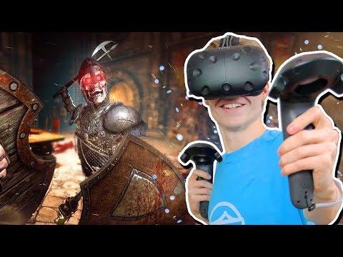 VIRTUAL REALITY SWORD FIGHTING   Shadow Legend: VR RPG (HTC Vive Gameplay)