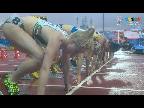 Athletics Women's 100 m Final - 27th Summer Universiade 2013 - Kazan (RUS)