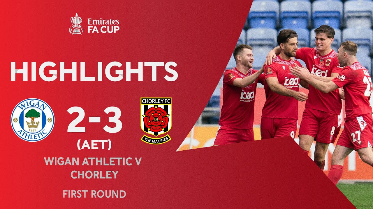 Hall Strikes In Extra-Time to Shock Latics!   Wigan Athletic 2-3 Chorley   Emirates FA Cup 2020-21