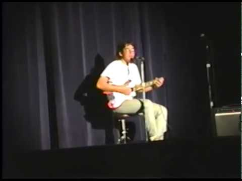 Lisle High School Talent Show 1992 - Brian Sumida performing Tangerine by Led Zeppelin